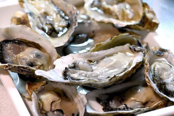 亜鉛を多く含む牡蠣