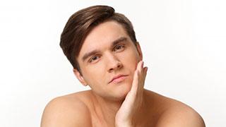 男性と美容